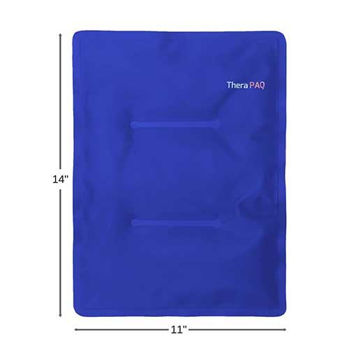 Best Ice Therapy Machines 9. Large Gel Ice Pack by TheraPAQ: Reusable Hot & Cold Pack for Your Hips, Shoulders, Back, Arms, Legs, Knees