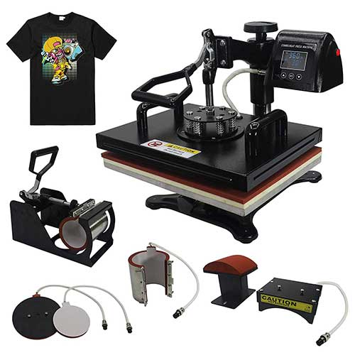 Top 10 Best Multifunction Heat Press Machines in 2019 Reviews