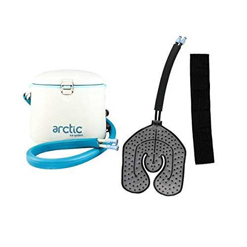 Best Ice Therapy Machines 2. Cryotherapy - Circulating Personal Cold Water Therapy Ice Machine by Arctic Ice –with Universal Pad for Knee, Elbow, Shoulder, Back Pain