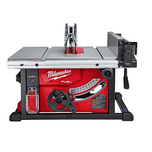 Best Table Saws for Woodworking 9. Milwaukee 2736-20 M18 Fuel ONE-Key 8-1/4 in. Table Saw, Tool Only - Battery, Charger NOT Included