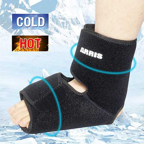 Best Ice Therapy Machines 3. Ice Pack for Ankle Injuries/Foot & Ankle Ice Pack for Sprained Ankle, Achilles Tendon Injuries, Plantar by ARRIS