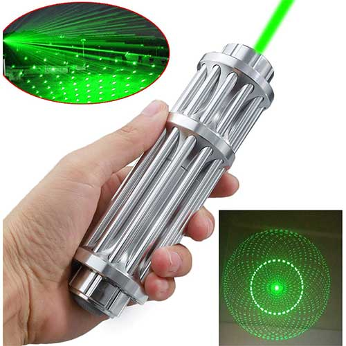 BEST GREEN LASER POINTERS FOR PRESENTATION 9. Wireless Presenter, EIGBIT Rechargeable Green Light Hyperlink Volume Control Presentation Clicker RF 2.4GHz USB Remote Control PowerPoint PPT Clicker