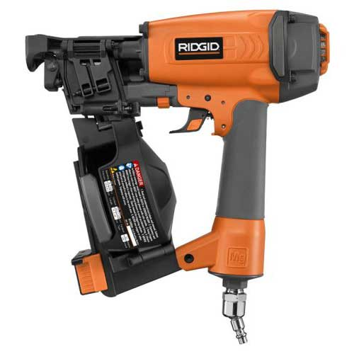 Best Roofing Nail Guns 10. Ridgid R175RNA 21163 1-3/4-Inch Coil Roofing Nailer