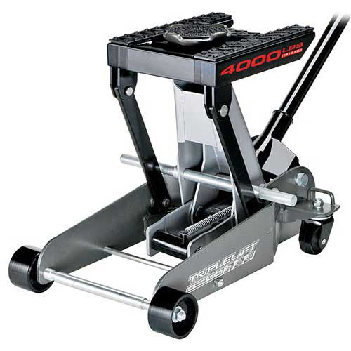 2. Powerbuilt 620422E Heavy Duty 4000 lb Triple Lift Jack