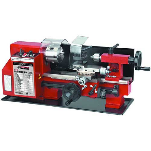 Best Beginner Metal Lathes 4. Central Machinery 7 x 10 Precision Mini Lathe by Central Machinery