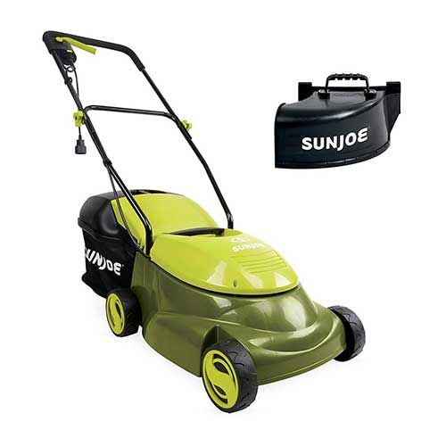 8. Sun Joe MJ401E-PRO 14 inch 13 Amp Electric Lawn Mower w/Side Discharge Chute, 14