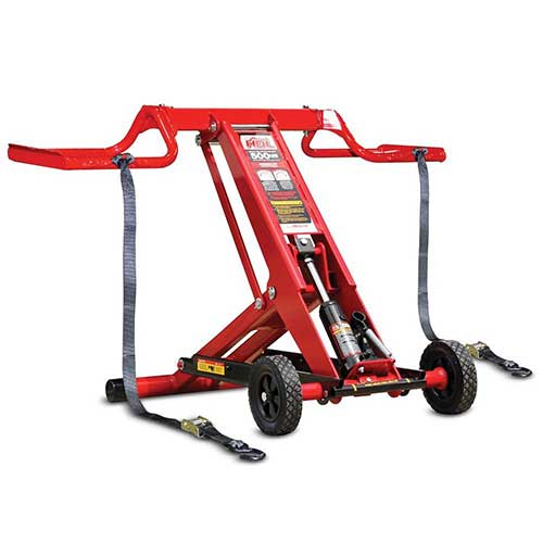 1. MoJack HDL 500 Multi-level Safety Braking System Lawn Mower Lift