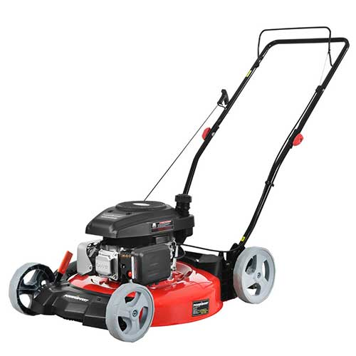 Best Lawn Mowers for Bermuda Grass 7. PowerSmart DB2321C Lawn Mower, Red and Black