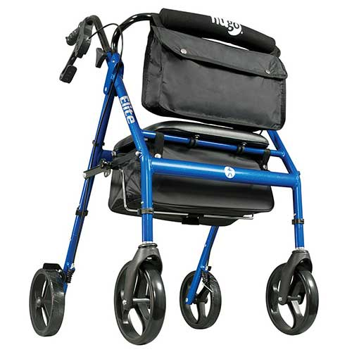2. HUGO ELITE ROLLATOR WALKER