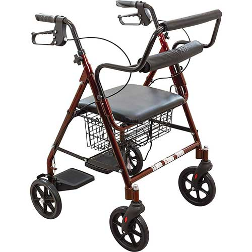 8. PRO BASICS TRANSPORT ROLLATOR WALKER