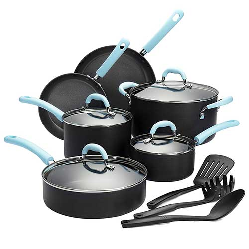 Top 10 Best Hard Anodized Aluminum Cookware Set in 2019 Reviews