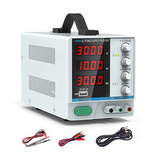3. 10A Dc Power Supply Us Power Cord