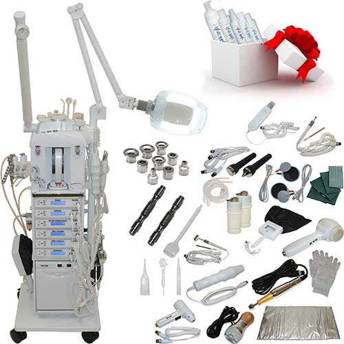 1. 22 in 1 Elite Series Multifunction Diamond Microdermabrasion Facial Machine Salon Spa Beauty Equipment