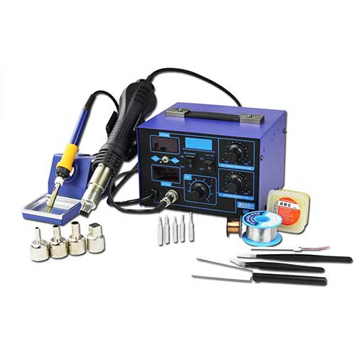 8. BACOENG 2in1 SMD Soldering Station 862D+ (Improved Version of 852 and 862)