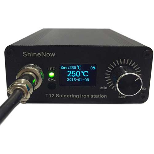 7. Soldering Iron station Kit, including Digital portable Soldering station Temperature Controller 72W