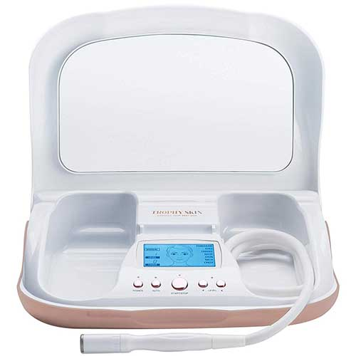 4. Trophy Skin MicrodermMD at Home Microdermabrasion Machine