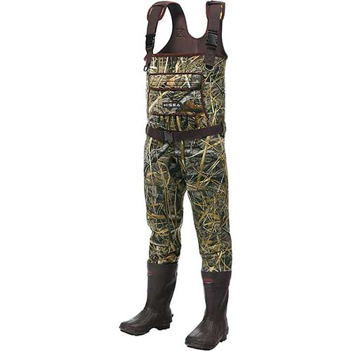 3. Hisea Chest Waders Neoprene Duck Hunting Waders