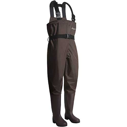 8. OXYVAN Waders Waterproof Lightweight Fishing Waders