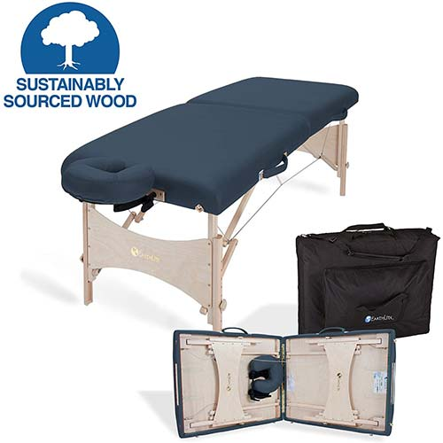 2. EARTHLITE Portable Massage Table HARMONY DX