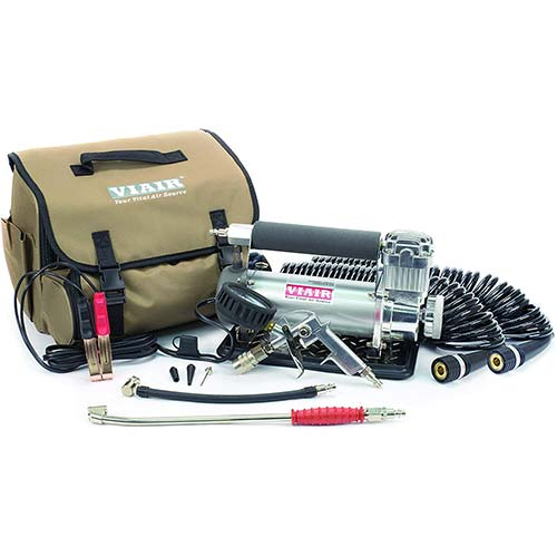 1. VIAIR 45053 Silver Automatic Portable Compressor Kit (450P-RV)