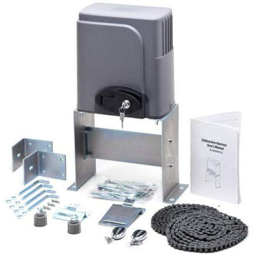 3. CO-Z Automatic Sliding Gate Opener Hardware Sliding Driveway Security Kit