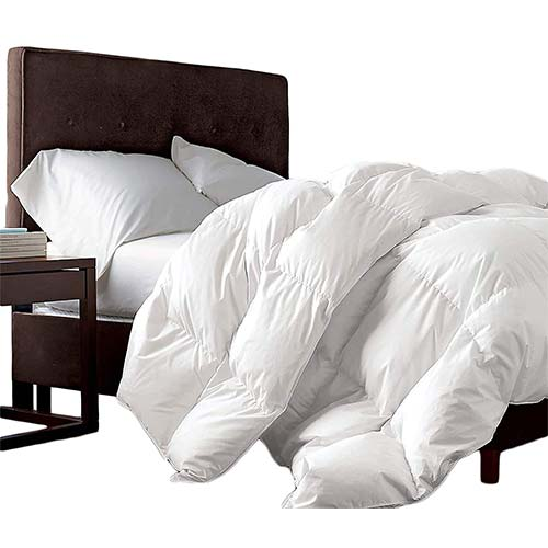 6. LUXURIOUS FULL / QUEEN Size Siberian GOOSE DOWN Comforter