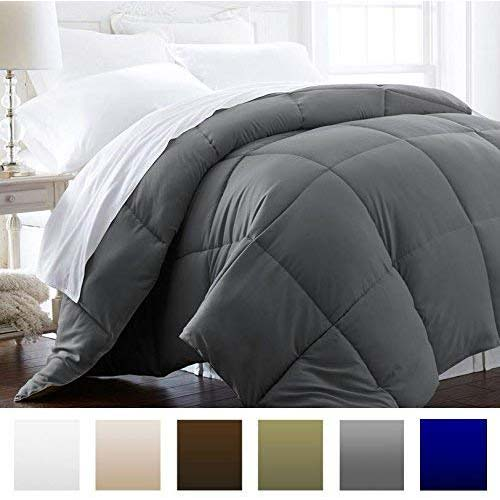 4. Beckham Hotel Collection 1600 Series - Lightweight - Luxury Goose Down Alternative Comforter