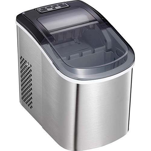 9. Antarctic Star Ice Maker Machine Countertop