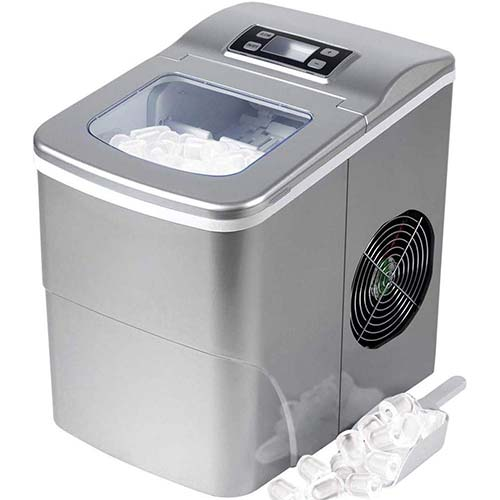 7. Tavata Countertop Portable Ice Maker Machine