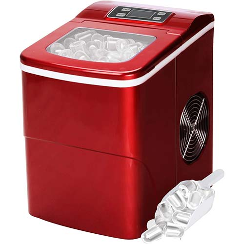 6. Countertop Ice Maker Portable Ice Making Machine