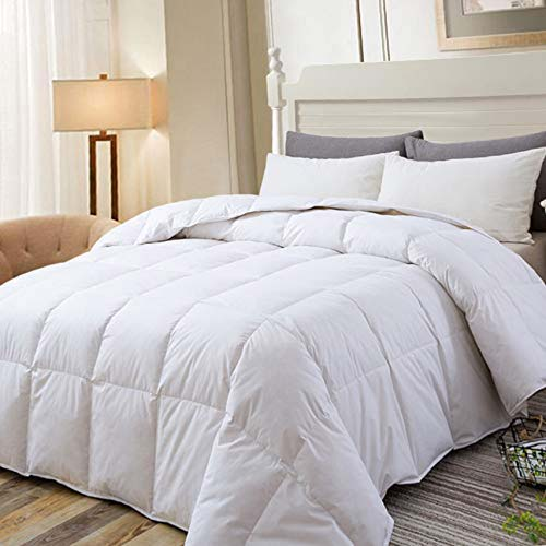 3. DOWNCOOL Cotton Goose Duck FeatherDown Comforter