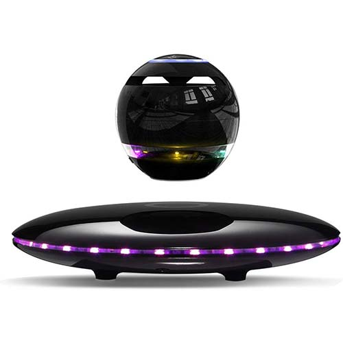 2. Infinity Orb Magnetic Levitating Speaker Bluetooth 4.0 LED Flash Wireless Floating Speakers