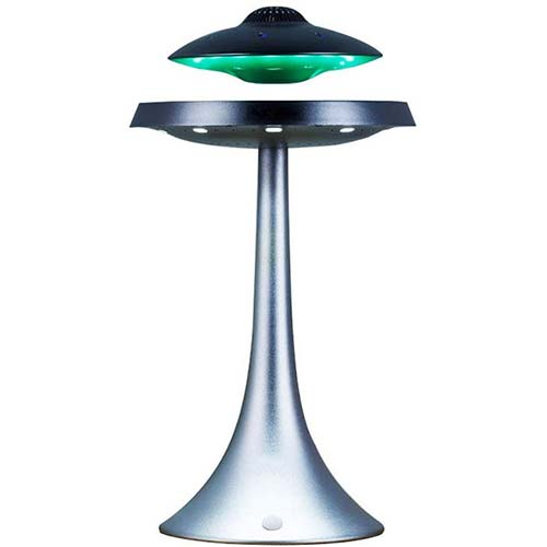 1. Izzya Anti-Gravity Flying Saucer Magnetic Floating HQ Bluetooth Speaker