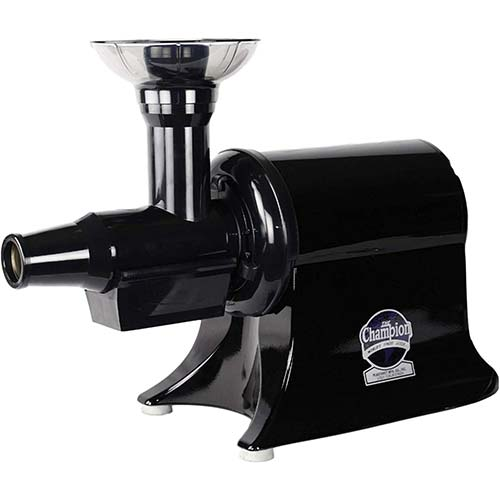 2. Champion Juicer – Commercial Heavy Duty Juicer – Black – G5- PG710