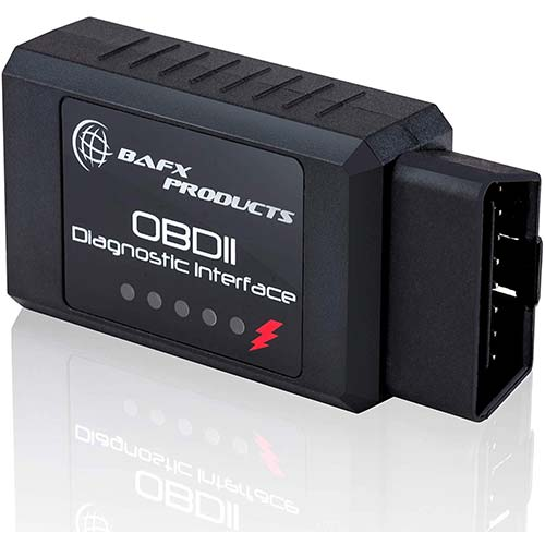 2. Bafx Products - Wireless Bluetooth OBD2 / OBDII Diagnostic Car Scanner