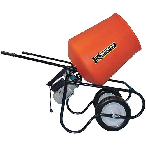 Top 10 Best Portable Cement Mixers in 2020 Reviews