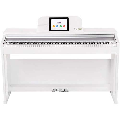 2. The ONE Smart Piano, Weighted 88-Key Digital Piano