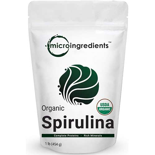 9. Micro Ingredients Pure Organic Spirulina Powder