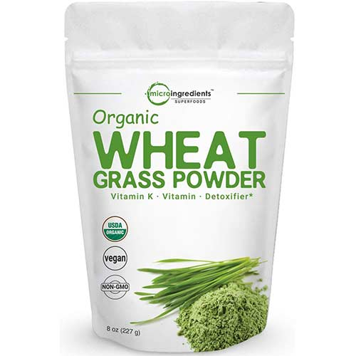 2. Sustainably US Grown, Organic Wheat Grass Powder