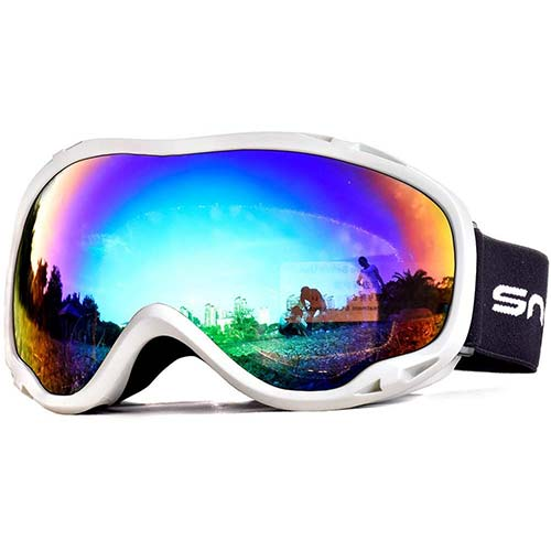 9. HUBO SPORTS Ski Snow Goggles for Men Women Adult