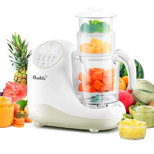 10. Baby Food Maker for Infants and Toddlers, Bable All-in-1 Food Processor Mills Machine