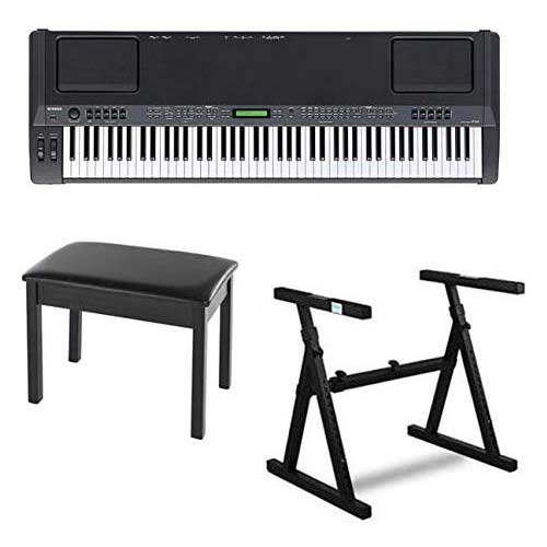 5. Yamaha CP300 88-Key Graded-Hammer Stage Piano Bundle