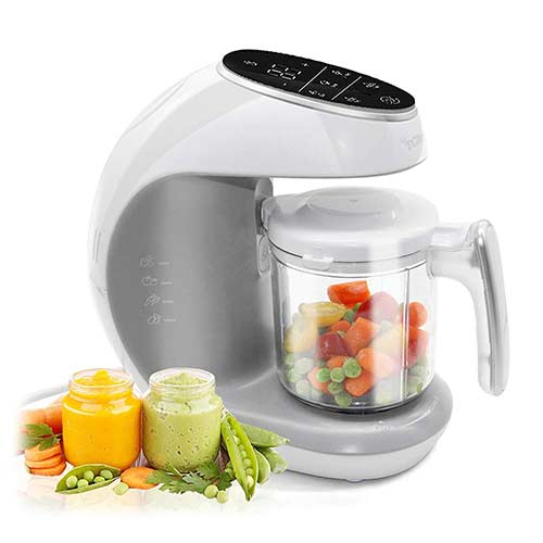 8. TCBunny Baby Food Maker Processor