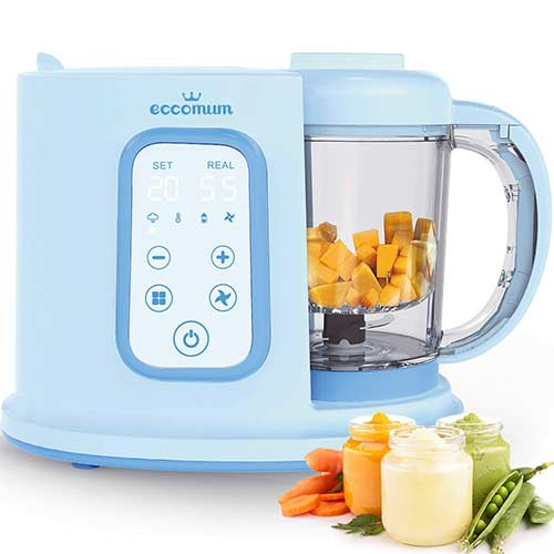 2. Baby Food Maker Eccomum Baby Food Processor Multi-Function Cooker and Blender