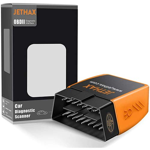 6. JETHAX OBD2 Scanner Bluetooth 4.0 Professional Car Code Reader