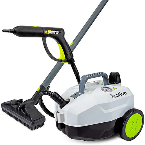 4. Ivation 1800W Canister Steam Cleaner