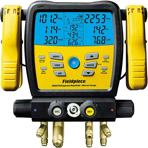 4. Fieldpiece SM480V SMAN Digital Manifold Wireless Data Logging