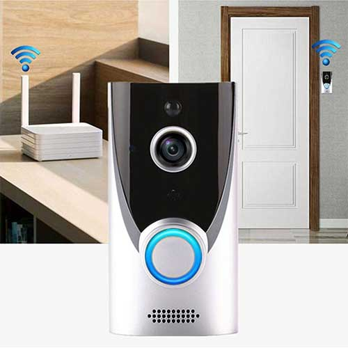 5. Eubell Smart Wireless WiFi Video Doorbell HD Security Camera