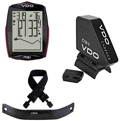 8. VDO M6.1 Wireless Bicycle Computer Bundle