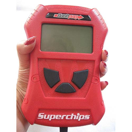 9. 1805 FORD SUPERCHIPS FLASHPAQ PROGRAMMER 99-03 7.3L 03-07 6.0L DIESEL FORD TRUCK